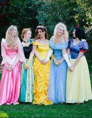 Princess Snow White Cinderella Belle Anna Aurora Party Perth Parties Kids Remember