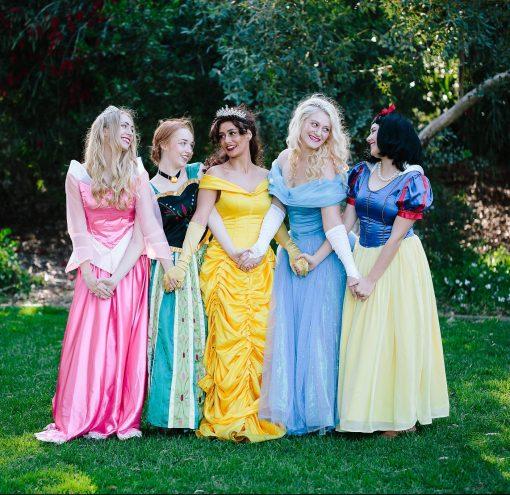 Princess Snow White Cinderella Belle Anna Aurora Party Perth Parties Kids Remember