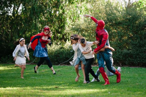 Superhero Spidergirl Spiderman Party Perth Parties Kids Remember