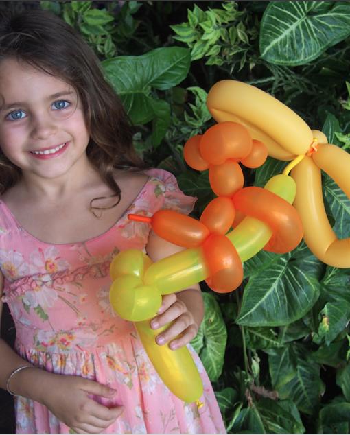 Balloon Twisting monkey