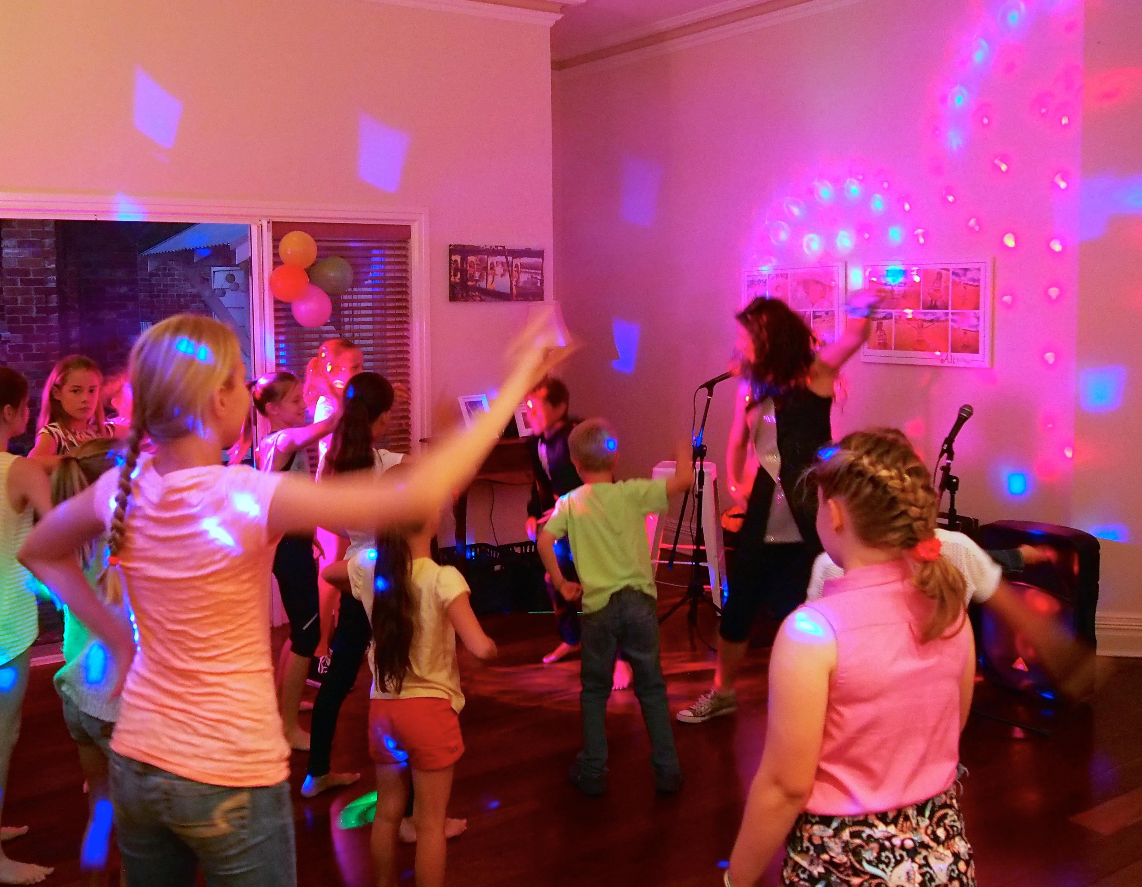 Disco Dance party theme