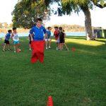 Sports party sack Races