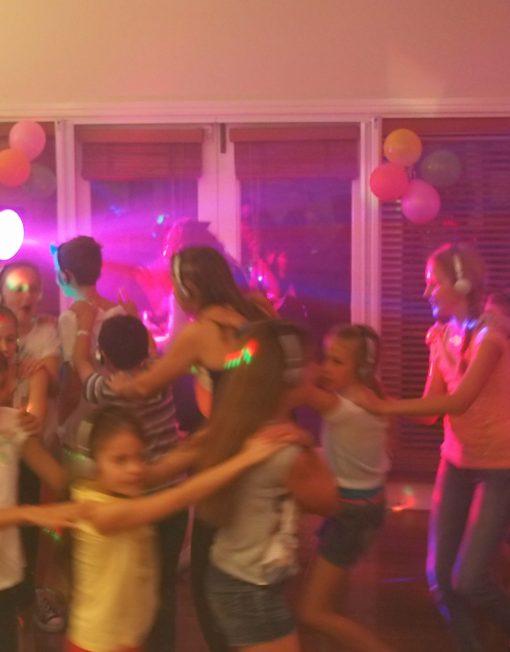 Silent Disco Dance Conga