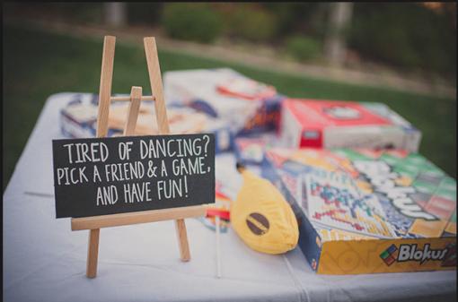 kids activities at weddings