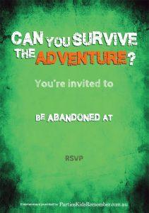 Adventure e-Invite