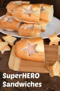 Superhero Sandwiches