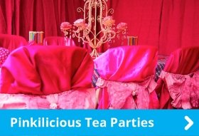 Pinkilicious Tea Parties