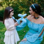 Princess Jasmine Balloon Twisting Party Perth Parties Kids Remember
