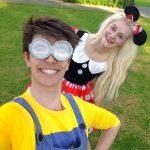 Minnie and Minion
