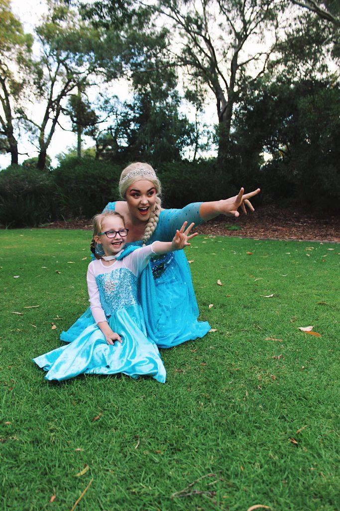 Frozen Elsa Anna Party Perth Parties Kids Remember