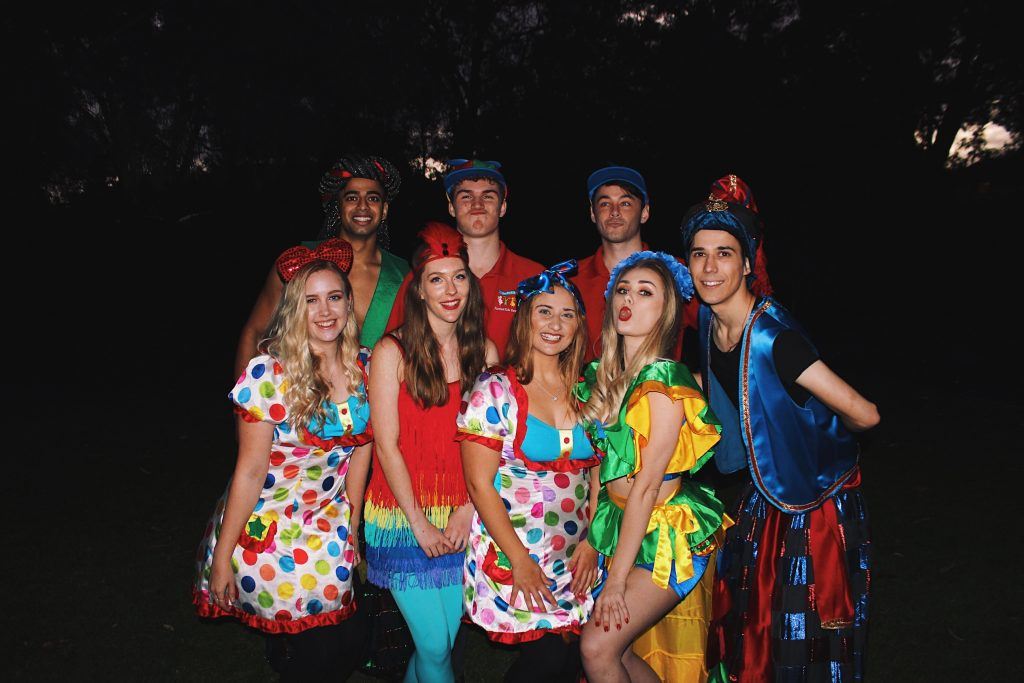 Circus Colourful Carnival Party Perth Parties Kids Remember