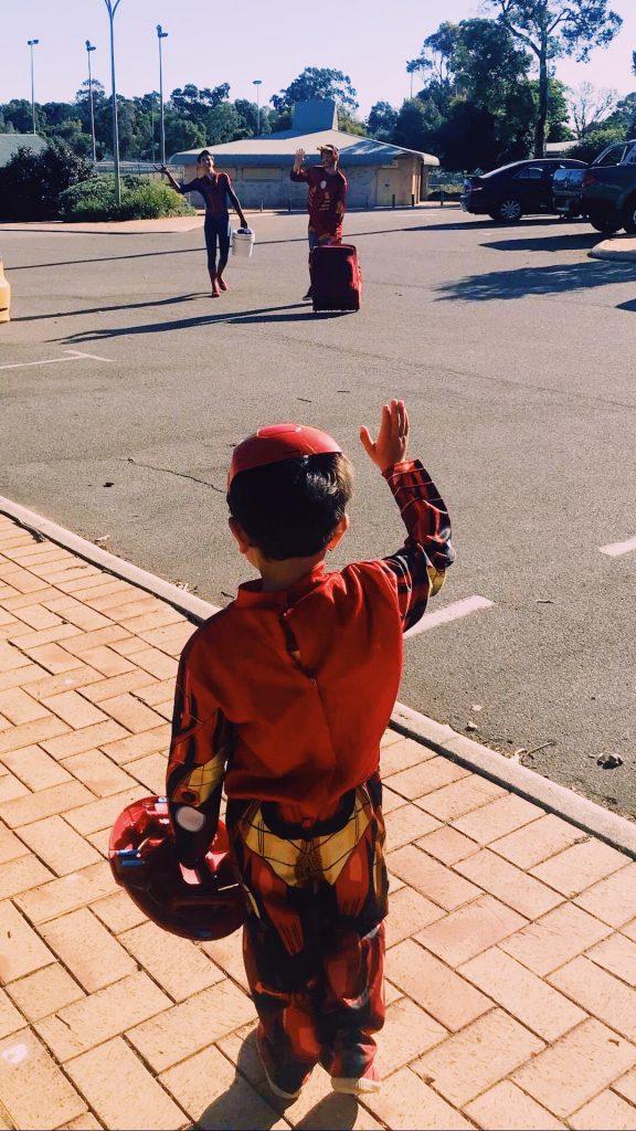 Superhero Spier-Man Ironman Party Perth Parties Kids Remember