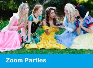 Princess Zoom Parties Perth Parties Kids Remember