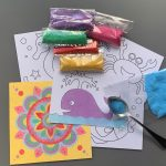 Sand Art Craft Kit Party Perth Parties Kids Remember