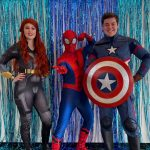 Black Widow Spiderman Captain America